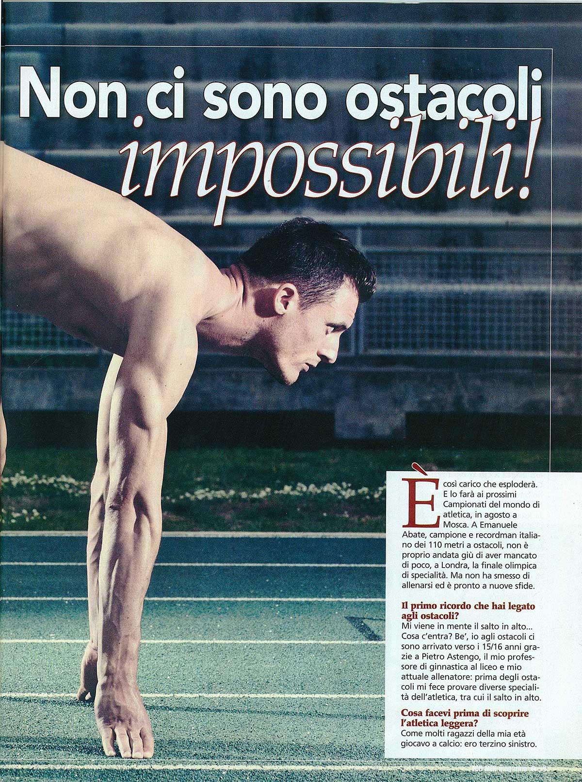 Emanuele Abate - Fiamme Oro AtleticaEmanuele Abate - Fiamme Oro Atletica