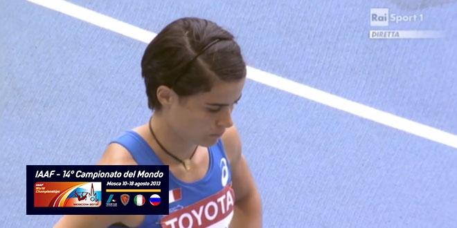 Campionati del Mondo di Mosca 2013 - Qualificazione 800m femminile (Milani)