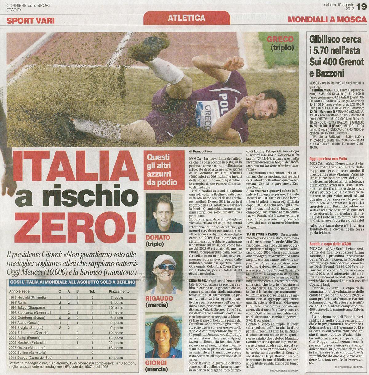 Daniele Greco – Rassegna Stampa 10 agosto