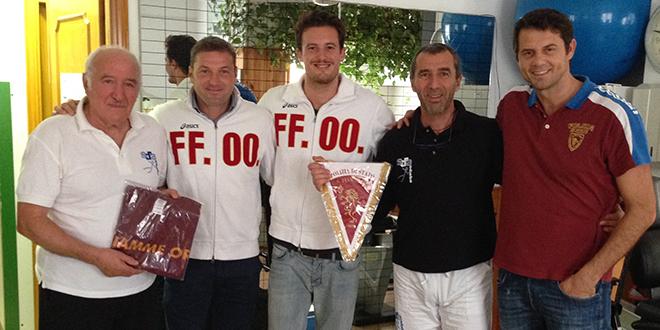 Francesco D'Andrea, Alessandro Briana, Emanuele Abate, Stefano D'Andrea e Sergio Baldo - Fiamme Oro Atletica