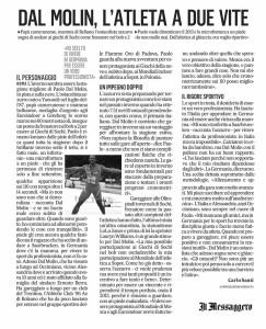 Paolo Dal Molin Il Messaggero 16-12-13