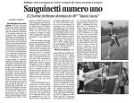 Andrea Sanguinetti Corriere Romagna 16-12-13
