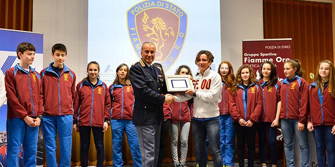 Festa Atletica Padovana 2014 - Fiamme Oro Atletica