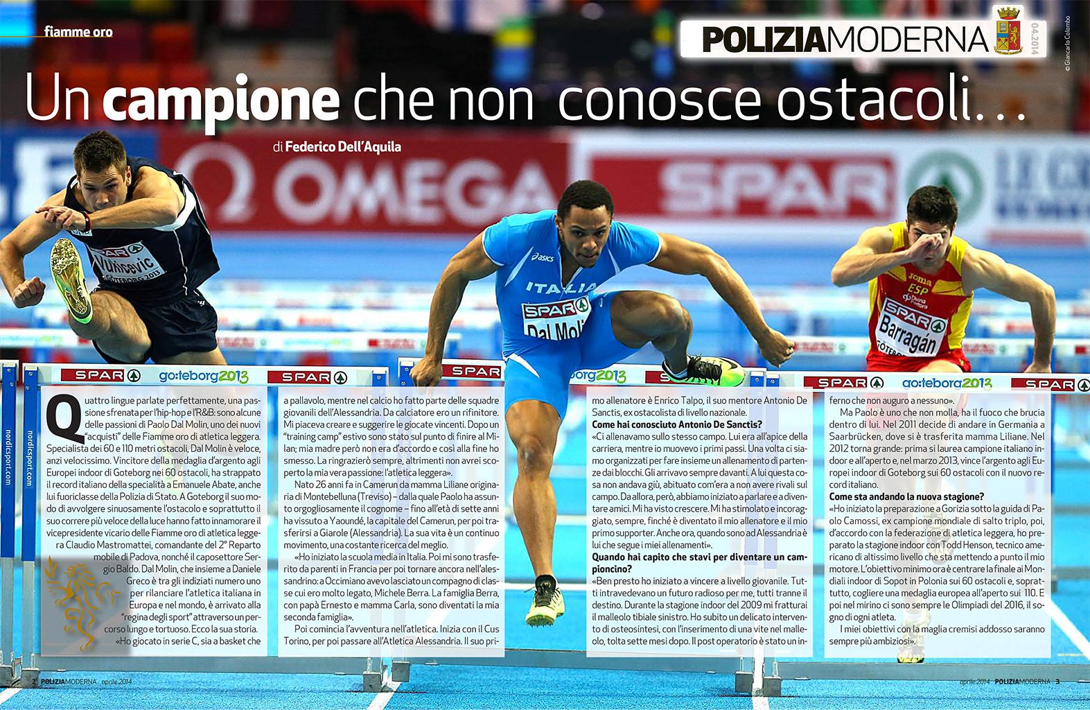 Paolo Dal Molin - Polizia Moderna - Fiamme Oro Atletica