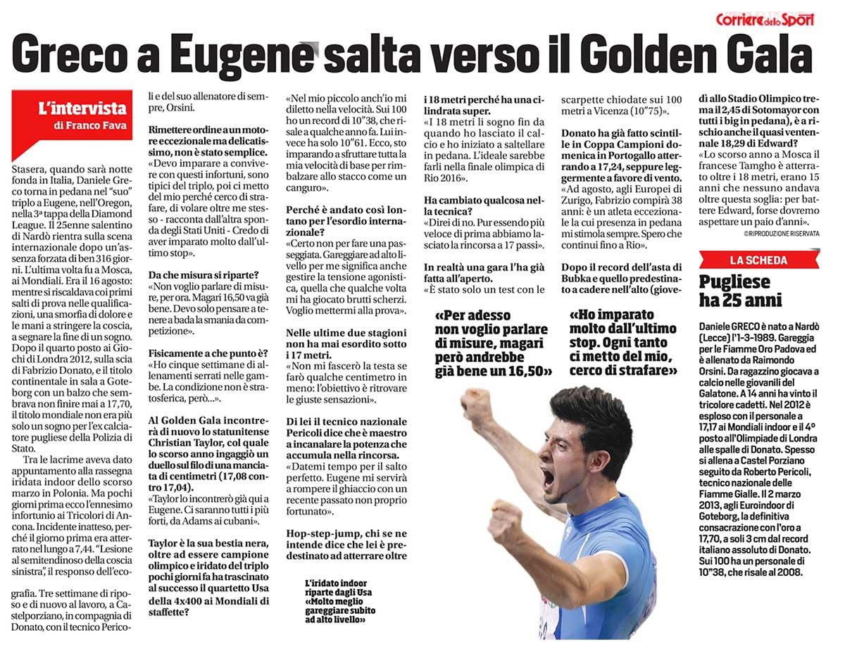 Corriere Sport Greco 31 05 14