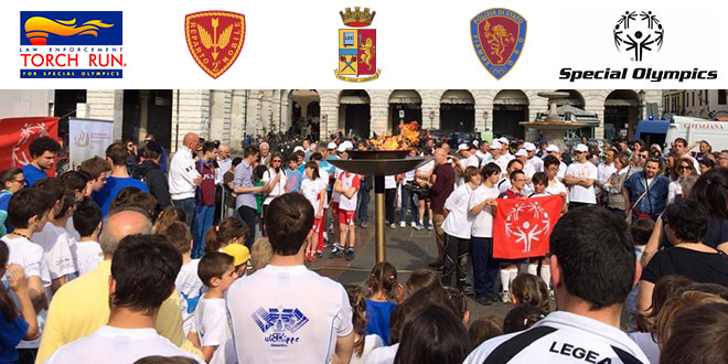 Torch Run Padova - Fiamme Oro Atletica