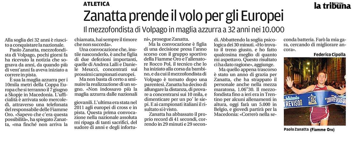Zanatta La Tribuna Treviso 31 05 14