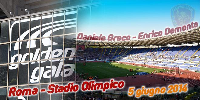 Golden Gala 2014 - Fiamme Oro Atletica