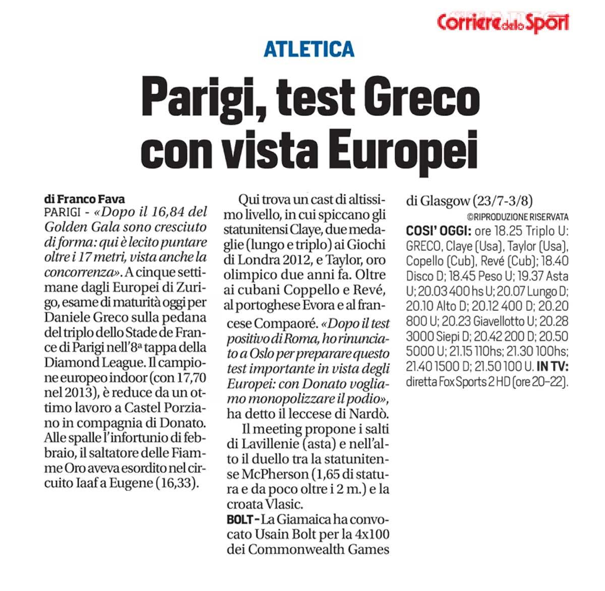 Greco Corriere Sport 05 07 14