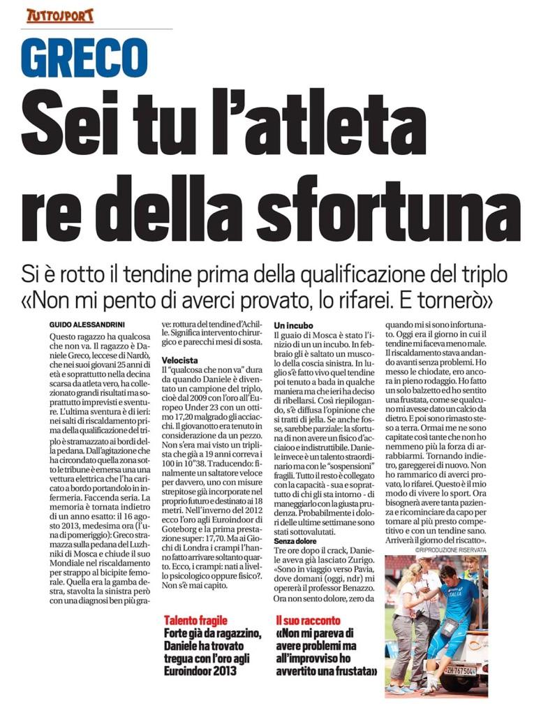 Tutto Sport 13 08 14