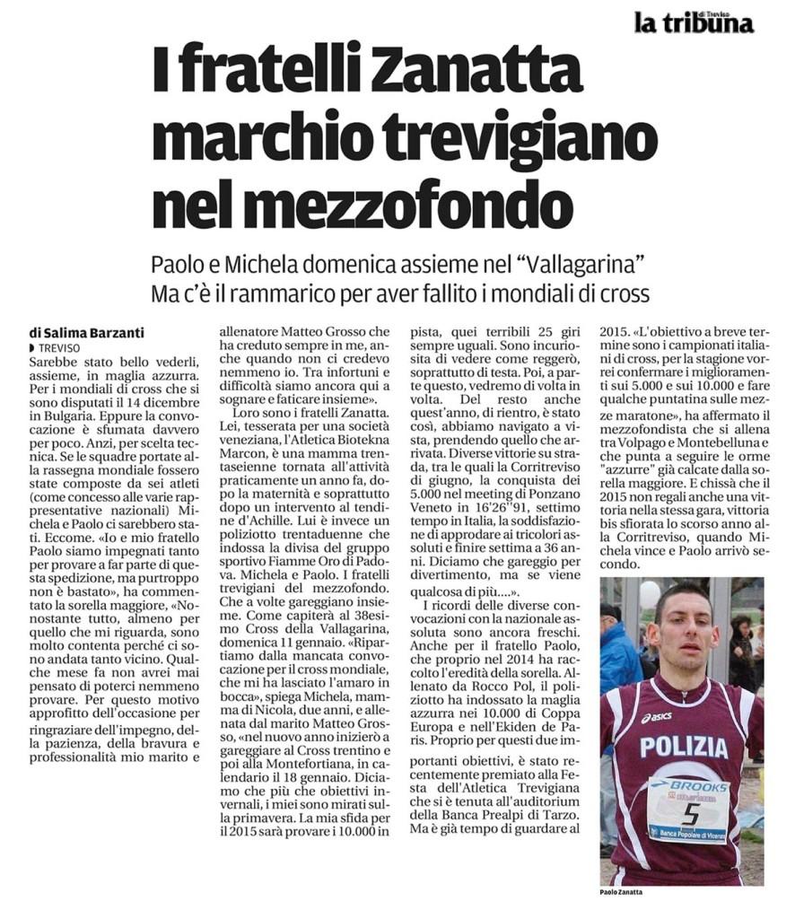 TribunaTreviso050115 - Fiamme Oro Atletica