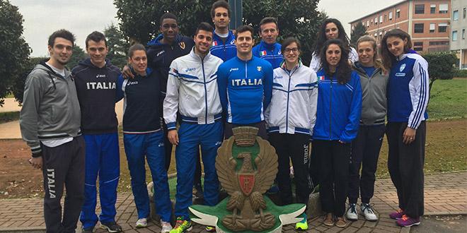 Raduno Padova - Fiamme Oro Atletica