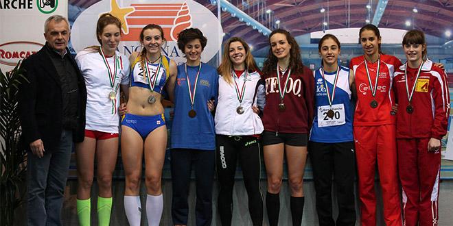 Spinello Podio Ancona 2015 - Fiamme Oro Atletica