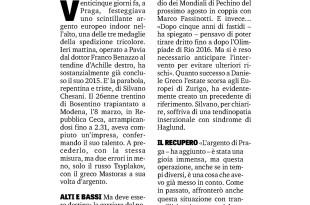 Gazzetta Sport 02 04 15 - Fiamme Oro Atletica