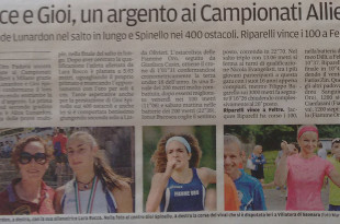 IlMattino220615 - Fiamme Oro Atletiica