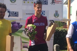 Andrea Sanguinetti Podio - Fiamme Oro Atletica