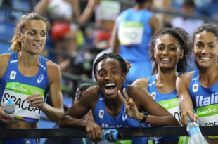 Staffetta Rio - Fiamme Oro Atletica