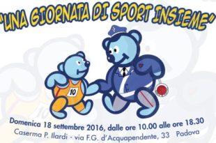 giornata di sport insieme 2016 - Fiamme Oro Atletica