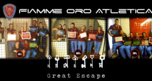 iamme oro atletica - great escape